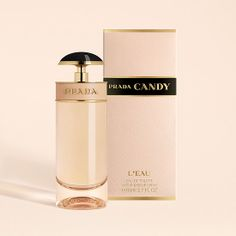 Prada Candy L'Eau: Prada Candy L'Eau ($88) is a fresh take on the original gourmand scent. It launches next month and features the same signature caramel note, but it's blended with sweet pea and citrus for a new take.