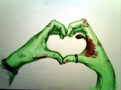 Zombie loves you. <3