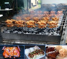 Huli Huli Chicken and all The other delicious Hawaiian foods your heart desires Ono Hawaiian Food, Hawaiian Dishes, Huli Huli Chicken, Top 10 Restaurants, Grill Brush, Squeezed Lemon, Dry Mustard, Rice Wine, Sesame Oil