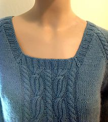 Ravelry: Tamara Square Neck Top pattern by Faina Goberstein 3 strepen kabelen Sweater Knitting Patterns, Knit Patterns, Knitting Sweaters, Girls Sweaters, Cozy Sweaters, Neck Pattern, Top Pattern, Square Neck Top, What Is Fashion