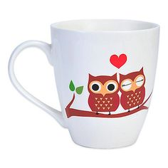 Remind the person in your life how much they mean to you with this adorable mug from Pfalzgraff. The phrase, Owl always love you is accompanied by enamored owls and a heart.