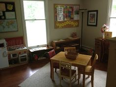 Simple Little Home: Our School Room
