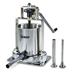 Guide Gear Stainless Steel Capacity Home Sausage Meat Stuffer Press Maker for sale online Steel Pressure Cooker, Easy To Make Breakfast, Best Sausage, Artisan Pizza, Best Juicer, Compact Refrigerator, Stainless Steel Tubing, How To Make Sausage, Stemless Wine Glasses