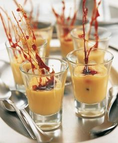 Chupitos de crema catalana – Delicooks | Good Food Good Life