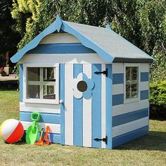 4 x 4 Waltons Honeypot Snug Wooden Playhouse