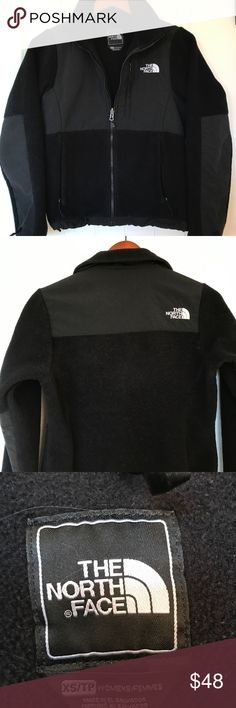NWT The North Face Women/'s Black Hthr 200 Cinder Fleece Mock Neck Jacket Coat S