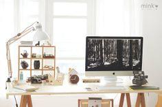 Mink's workspace