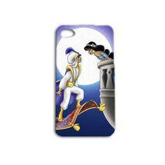 Disney Aladdin Princess Jasmine Cute Couple Famous Movie iPhone Case Cell Phone Cover