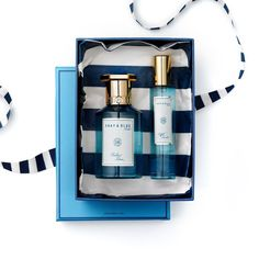 Shay & Blue Gift - beautiful packaging....i wear framboise noir perfume which is beautiful and unusual...there are quite a few different fragrances to try...one will suit you