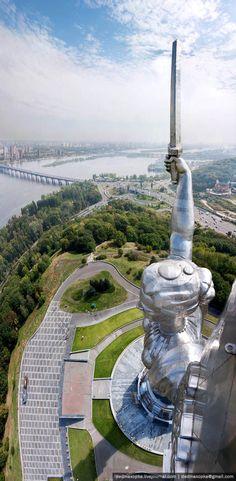 Motherland, Kiev, Ukraine by Vadim Mohorov