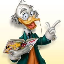 """Professor Ludwig Von Drake is one of Walt Disney's cartoon and comic book characters. He was first introduced on September 24, 1961, as the presenter (and singer of """"The Spectrum Song"""") in the cartoon An Adventure in Color, part of the first episode of Walt Disney's Wonderful World of Color on NBC. Said to be an uncle of Donald Duck, he was supposedly named after either Ludwig von Mises or Ludwig van Beethoven."""