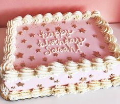 CHEERLEADER PINK RECTANGLE SQUARE PERSONALISED ICING EDIBLE COSTCO CAKE TOPPER