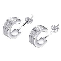 Кук, Простой, Значимые высокое качество серебряные серьги для женщин мода ювелирных изделий серьги / LCQTQESD KCBLOEPL