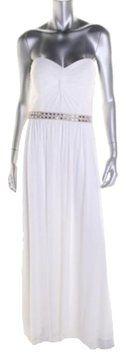 Aqua Diamond Greecian Wedding Dress