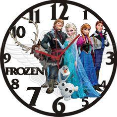 Horloge vinyle décoration FROZEN 28.50€