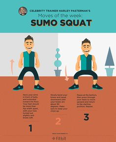 Do this: celebrity trainer Harley Pasternak's Sumo Squat!
