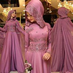 PINAR ŞEMS SEDEF ABİYE Gül Kurusu Fiyatı 725 ₺ Sayfamızdan bulabilirsiniz Aynı… Bridal Hijab, Muslim Wedding Dresses, Muslim Brides, Muslim Dress, Bridal Dresses, Abaya Style, Islamic Fashion, Muslim Fashion, Ivory Dresses