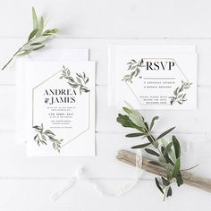 Hey, I found this really awesome Etsy listing at https://www.etsy.com/listing/537346789/minimalist-wedding-invitation-suite-the