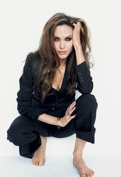 Angelina Jolie sizzles in Vanity Fair Magazine Shoot