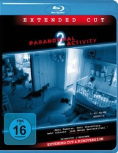 Paranormal Activity II Extended Cut  2010 USA      Jetzt bei Amazon Kaufen Jetzt als Blu-ray oder DVD bei Amazon.de bestellen  IMDB Rating 5,7 (47.952)  Darsteller: David Bierend, Brian Boland, Molly Ephraim, Katie Featherston, Seth Ginsberg,  Genre: Horror,  FSK: 16