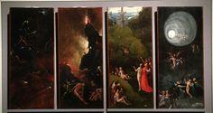 Visioni  dell'Aldila'. 1503. Venezia Gallerie dell'Accademia.