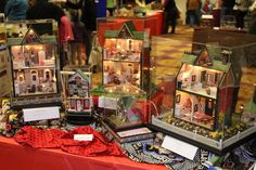 Mary Engelbreit Dollhouses - Exhibits at the Seattle Miniature Show March 7-8, 2015 - Seattle Miniature Show