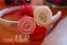 """vixenMade: The """"Love""""ly Rosette Headband"""