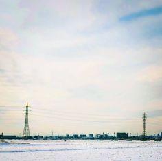 雪の街を眺めて  #イマソラ #雪 #雪景色 #空色 #朝 #空 #雪 #雪景色 #朝空 #おはよう #todayssky #skyblue ##morning #sky #snow #morningglow #morningsky by qanads