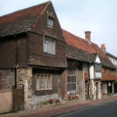 The 15th century Anne of Cleves house, Lewes, East Sussex, UK was part of Queen Anne's annulment from Henry VIII in 1541