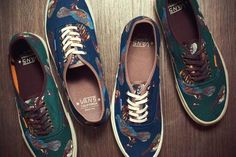 VANS CALIFORNIA BIRDS AUTHENTIC CA PACK  2012 FALL/WINTER #sneaker