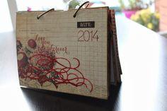 Diy Calendario de scrap
