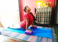 How To Use Yoga Blocks For Back Pain, Anxiety And Improved Posture - yogarsutra Yoga For Osteoporosis, Yoga For Flat Tummy, Fish Pose, Plank Pose, Yoga For Back Pain, International Yoga Day, Yoga Props, Yoga Block, Yoga For Flexibility