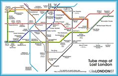 This Alternative London Underground Map Shows You What To See At Every Tube Stop In Central London - Hand Luggage Only - Travel, Food &… Backpacking Europe, London Tube Map, Underground Map, Up Book, Things To Do In London, Travel Planner, London Travel, Travel Advice, Travel Quotes