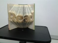 Our first attempt at book art!