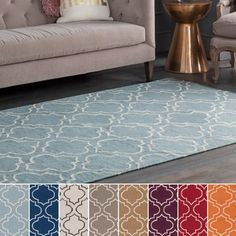 Shop for Flatweave Melksham Wool Rug (8' x 10'). Get free shipping at Overstock.com - Your Online Home Decor Outlet Store! Get 5% in rewards with Club O!