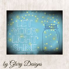INSTANT DOWNLOAD Scripture Art bible verse Let by glorydesigns, $5.00