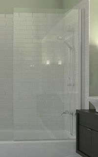 Shower Screens The Sleek Alternative To Shower Curtains