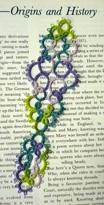 Tatting blog with great patterns and tutorials