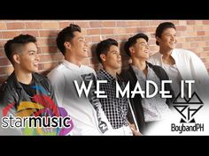 BoybandPH - We Made It (Lyric Video) Russell Reyes, Types Of Music, Pinoy, Itunes, Boy Bands, Ph, Singing, Lyrics, Album