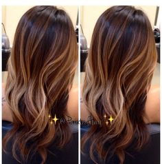 Chocolate brown base with balayage highlights Dark Sombre Hair, Balayage Hair, Short Balayage, Balayage Highlights, Long Fine Hair, New Hair Colors, Hair Lengths, Caramel Highlights On Dark Hair, Brunette Hair Color With Highlights