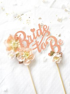 Bridal Shower Cake Topper Wedding Shower by LoveYouMoreParties