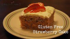 #glutenfree strawberry cake... yum!