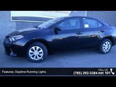 2015 Toyota Corolla L - Lewis Toyota - Topeka, KS 66614  Take a road, any road. Now add this Sedan and watch how that road begins to look like a racetrack!! New Inventory.. Classy!!! SAVE AT THE PUMP!!! 36 MPG Hwy..