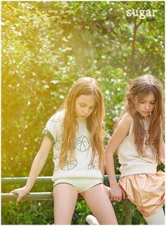 Emma & Alessandra from Sugar Kids for MilK mag by Eva Bozzo.