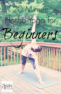 Hi, yogi friends! Hi, yogi friends! This is a full 20 minute hatha yoga class for beginners. If you're new to yoga or you're just looking . Hatha Yoga Poses, Yoga Bewegungen, Kundalini Yoga, Vinyasa Yoga, Yin Yoga, Yoga Flow, Yoga Meditation, Hatha Yoga For Beginners, Workout For Beginners