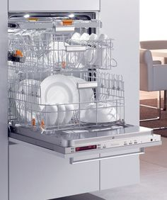 Once you see a raised dishwasher, you will wonder why dishwashers were ever designed to be placed down to the floor. If you have the room to do this, it's wonderful for those with bad joints or knee problems. Universal design is in the forefront of state-of-the art design.