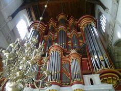 Rotterdam: the organ @ Laurenskerk