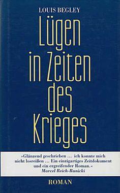 Mein Buch des Monats: Lügen in Zeiten des Krieges von Louis Begley | BuecherSammler