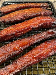 Smoked pork belly. Grilling Ideas, Smoked Pork, Pork Belly, Meat, Food, Essen, Meals, Yemek, Eten