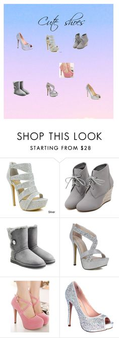 """""""Cute shoes"""" by dsegura on Polyvore featuring Celeste, WithChic, UGG Australia, Lauren Lorraine and Badgley Mischka"""